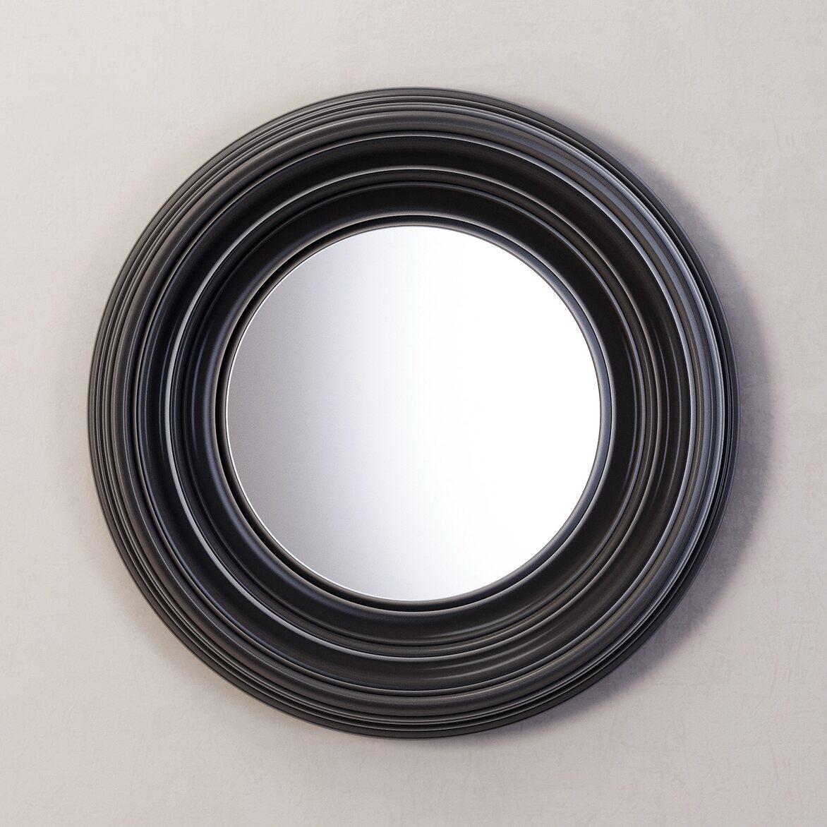 Зеркало Coventry, черное   Настенные зеркала Kingsby