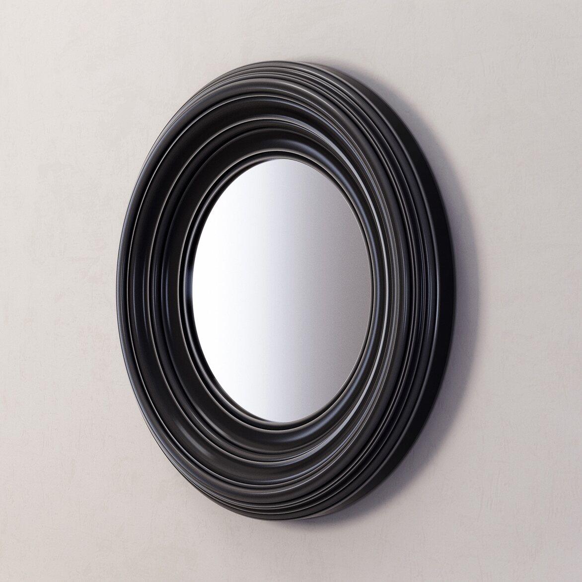 Зеркало Coventry, черное 2   Настенные зеркала Kingsby