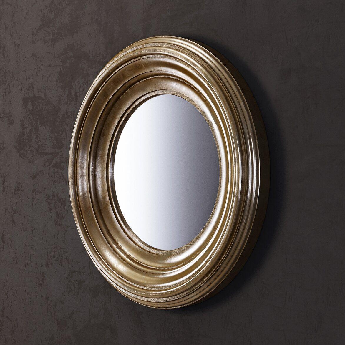 Зеркало Coventry, золотое 2 | Настенные зеркала Kingsby
