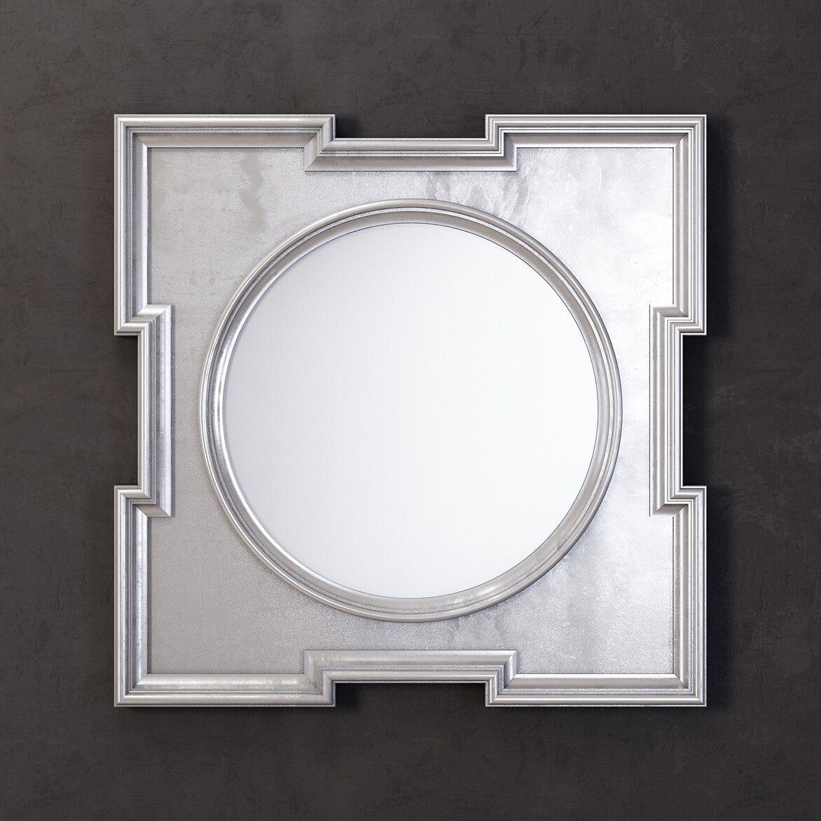 Зеркало Orlando, silver   Настенные зеркала Kingsby