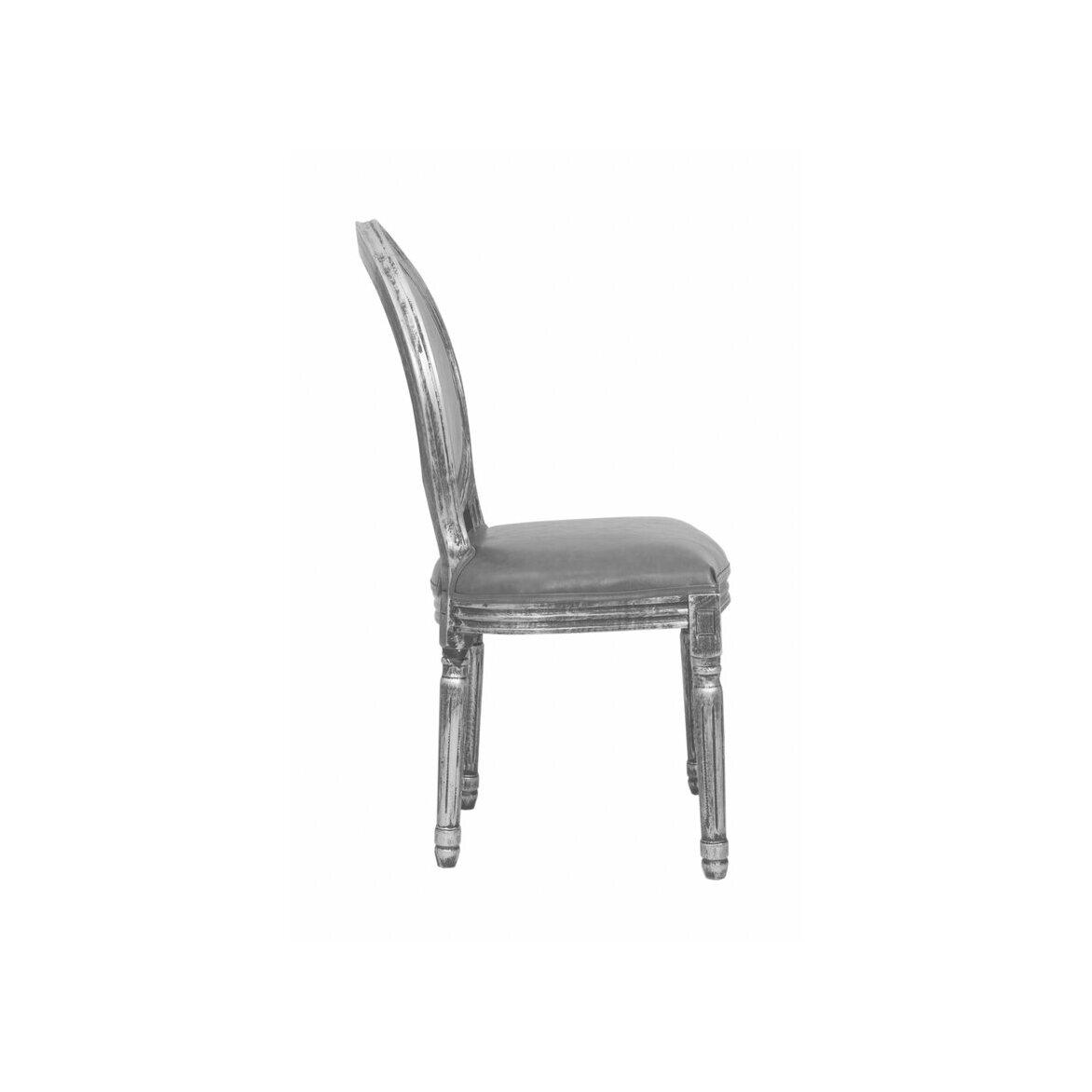Стул Volker silver 2 | Обеденные стулья Kingsby
