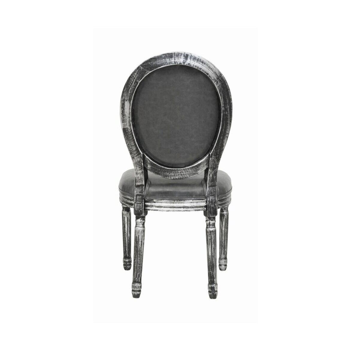 Стул Volker silver 3 | Обеденные стулья Kingsby