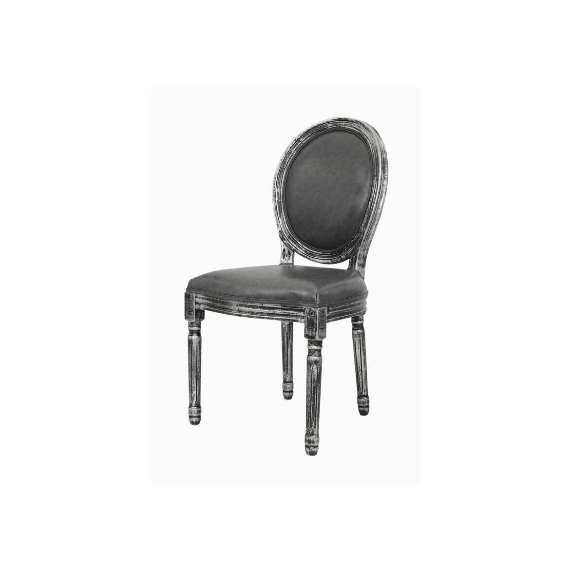 Стул Volker silver 4 | Обеденные стулья Kingsby