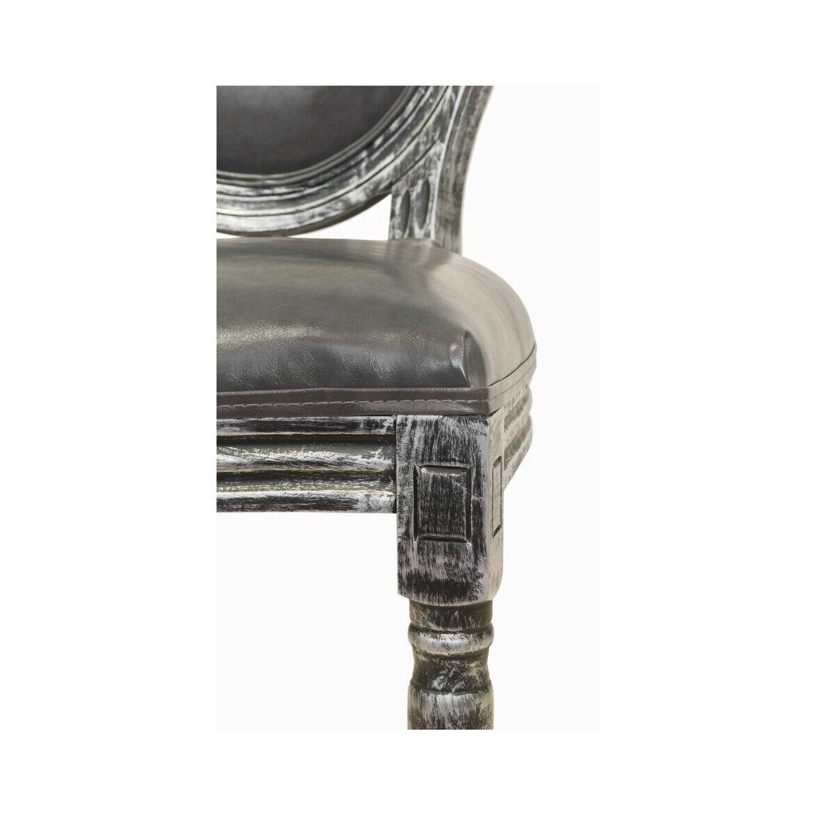 Стул Volker silver 5 | Обеденные стулья Kingsby