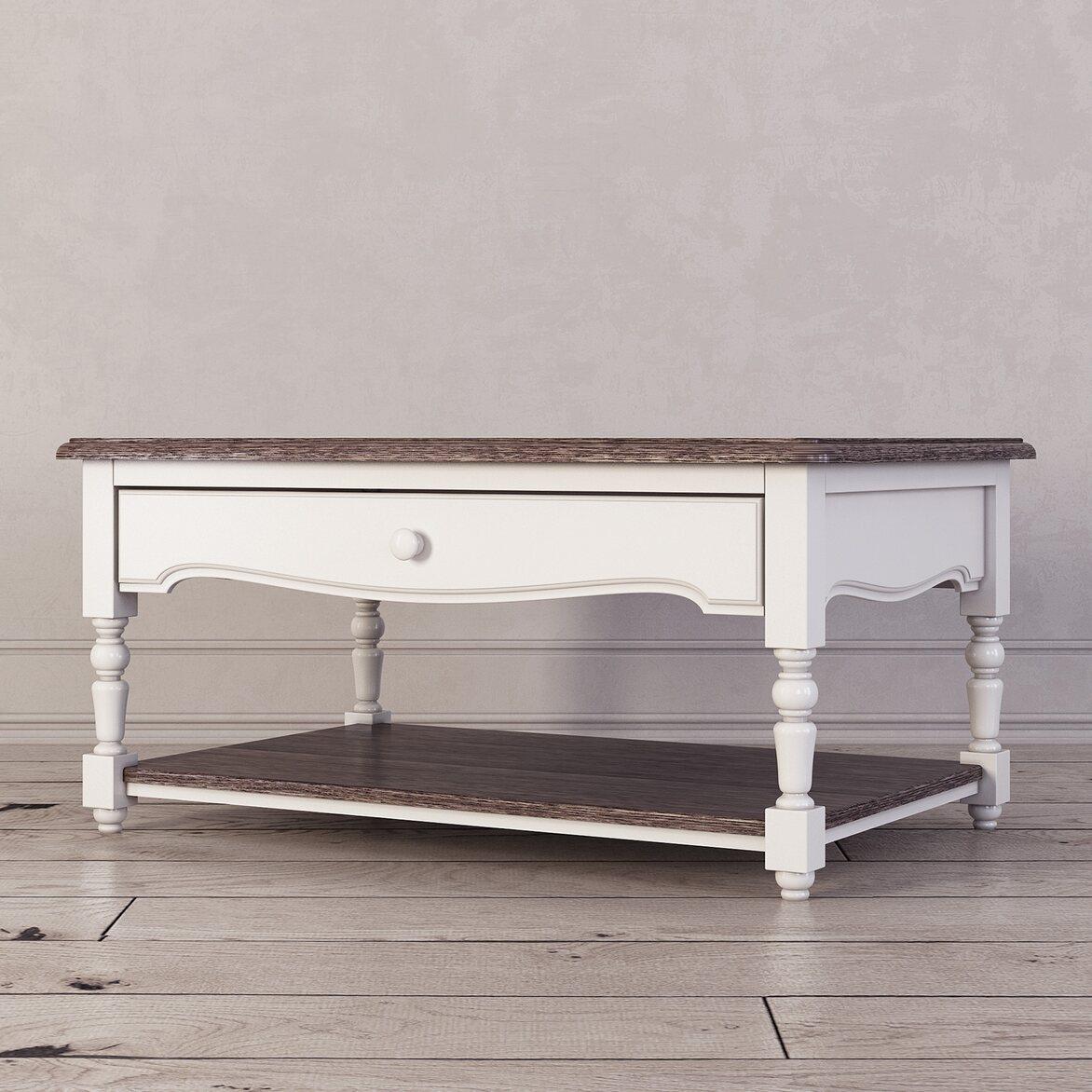Журнальный столик Leblanc, белый 2 | Журнальные столики Kingsby