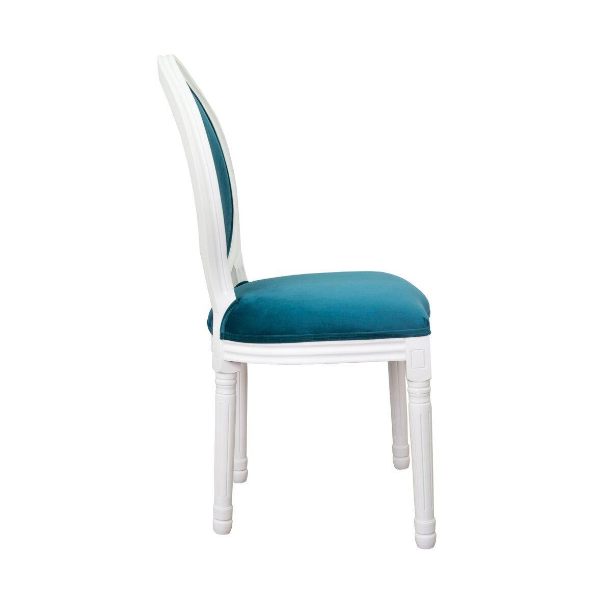 Стул Volker blue +white 2   Обеденные стулья Kingsby