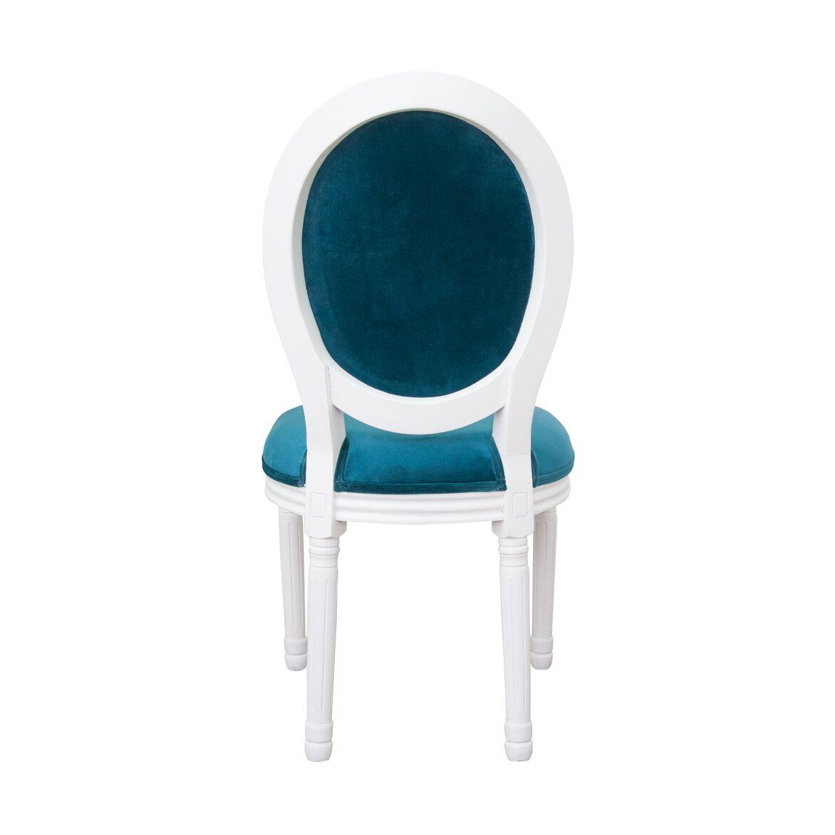 Стул Volker blue +white 4   Обеденные стулья Kingsby