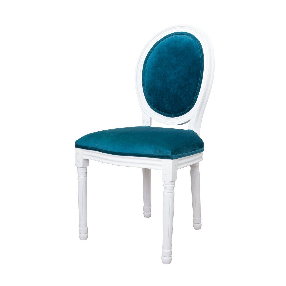 Стул Volker blue +white 3   Обеденные стулья Kingsby