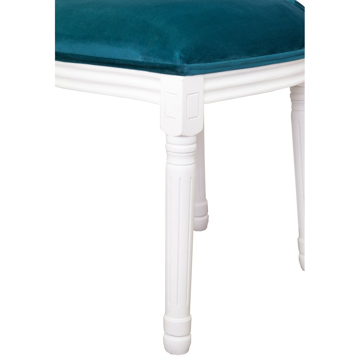 Стул Volker blue +white 5   Обеденные стулья Kingsby