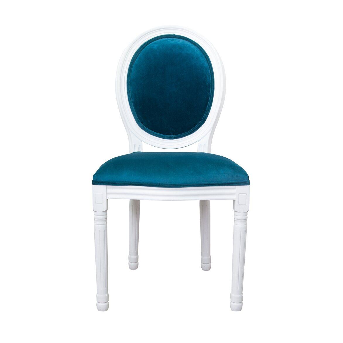 Стул Volker blue +white   Обеденные стулья Kingsby