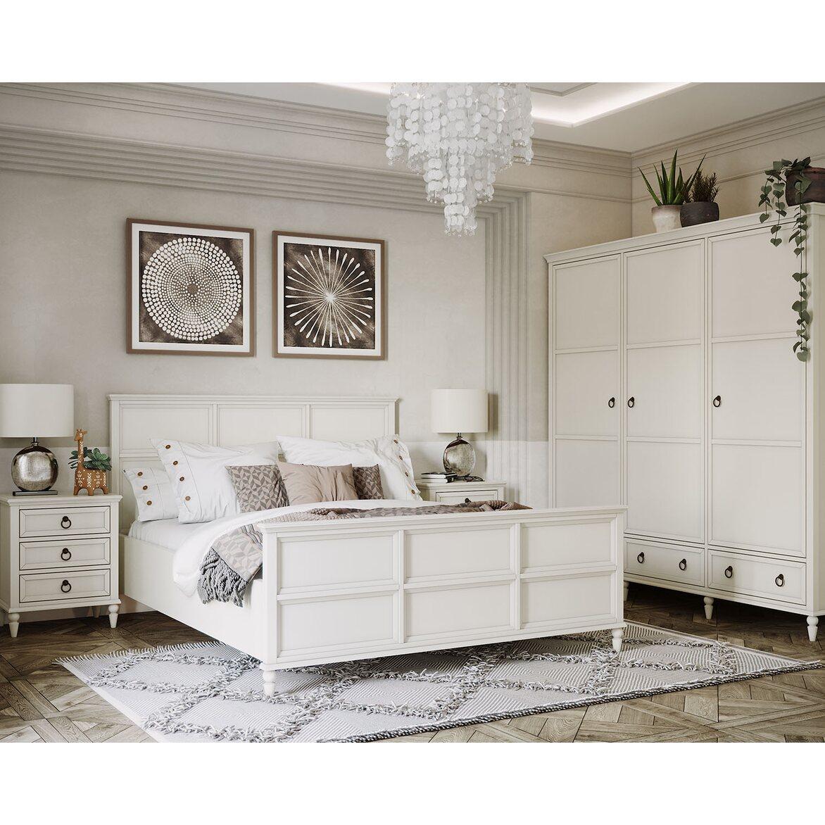 Кровать Vilton, с изножьем 4   Двуспальные кровати Kingsby