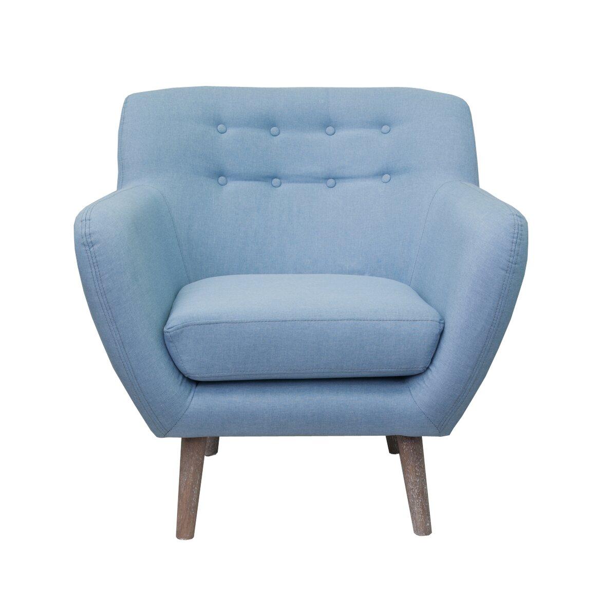 Низкое кресло Fuller blue | Маленькие кресла Kingsby