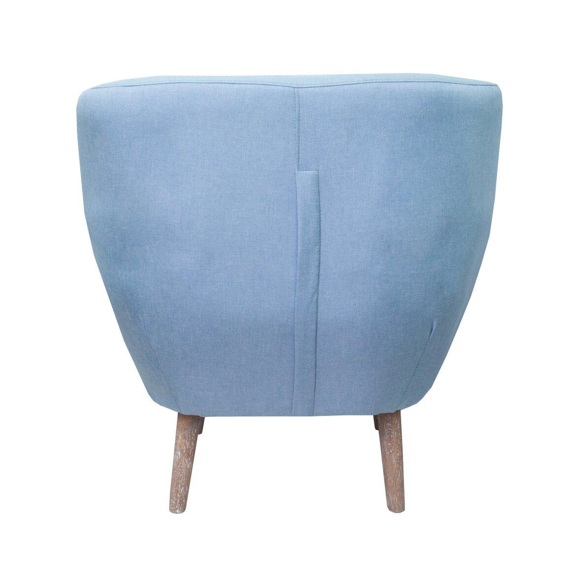 Низкое кресло Fuller blue 3 | Маленькие кресла Kingsby