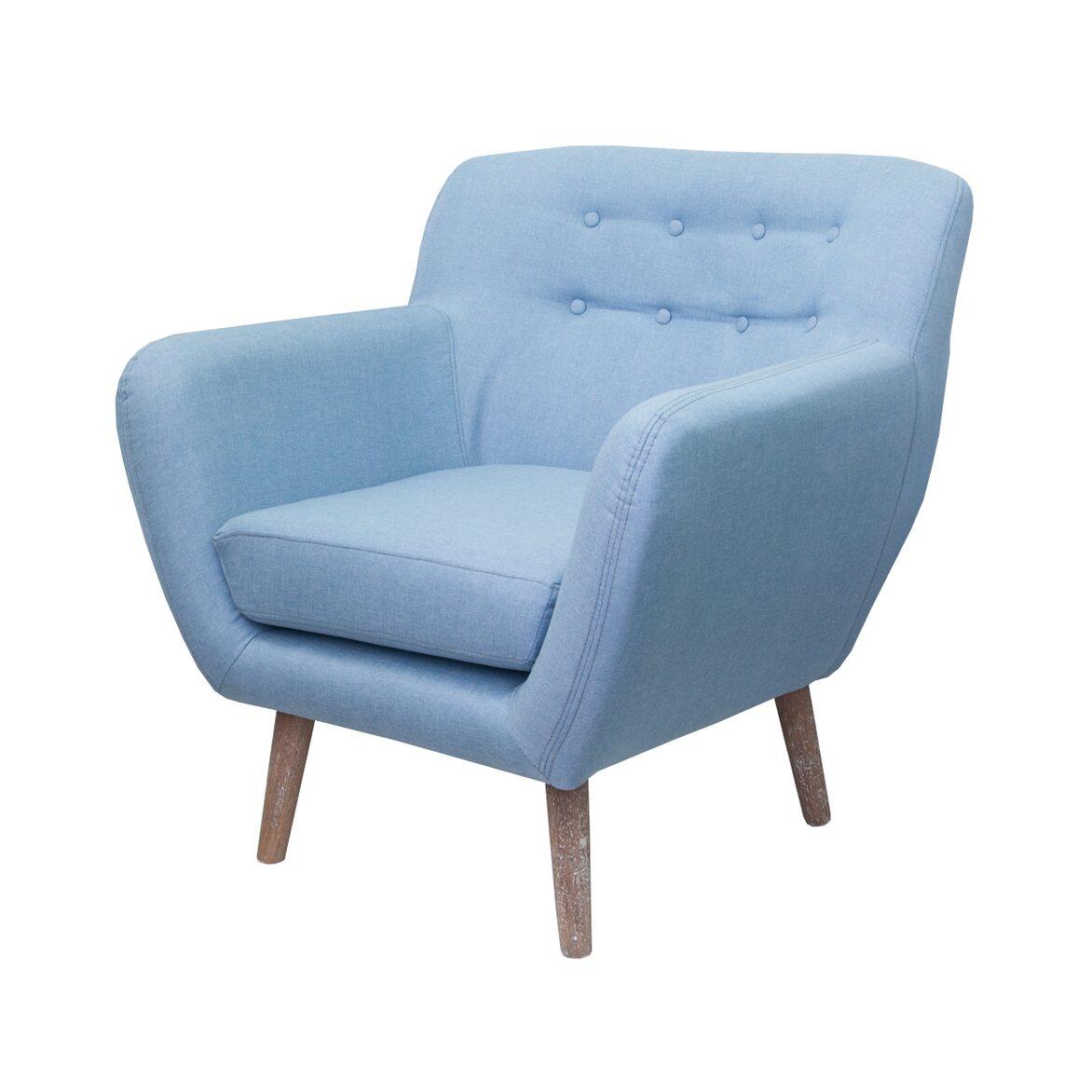 Низкое кресло Fuller blue 4 | Маленькие кресла Kingsby
