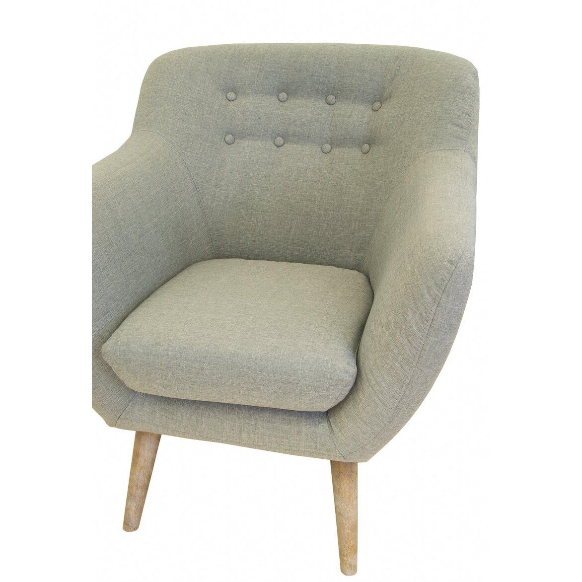 Низкое кресло Fuller grey 5 | Маленькие кресла Kingsby