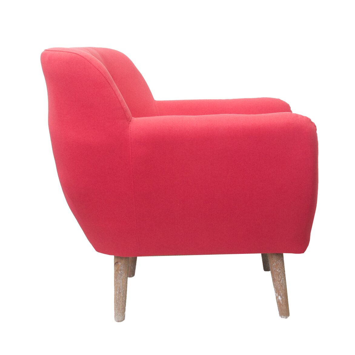 Низкое кресло Fuller red 2   Маленькие кресла Kingsby