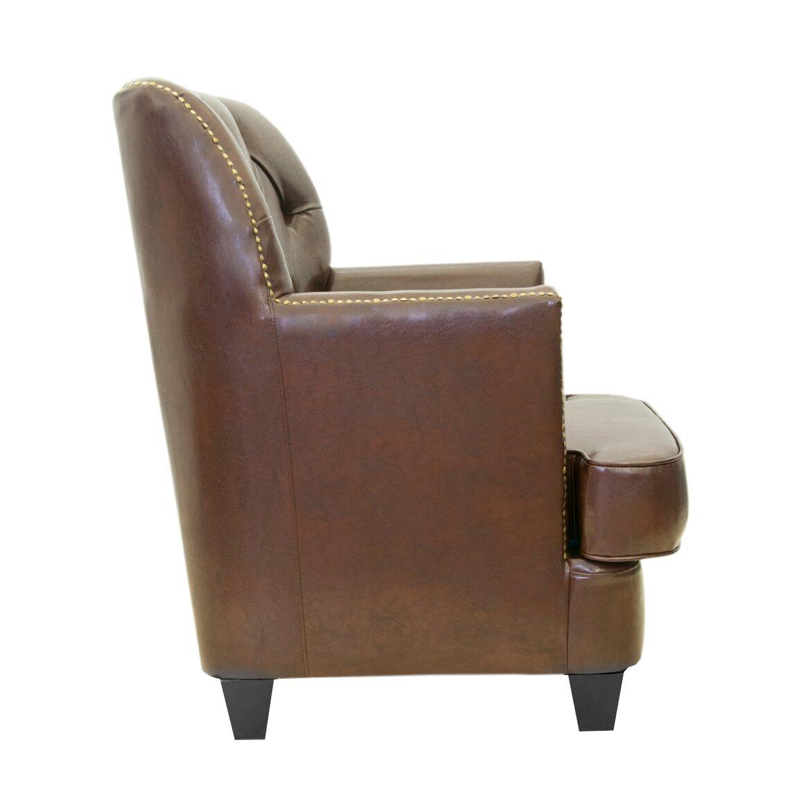 Кожаное кресло Noff 2   Кожаные кресла Kingsby