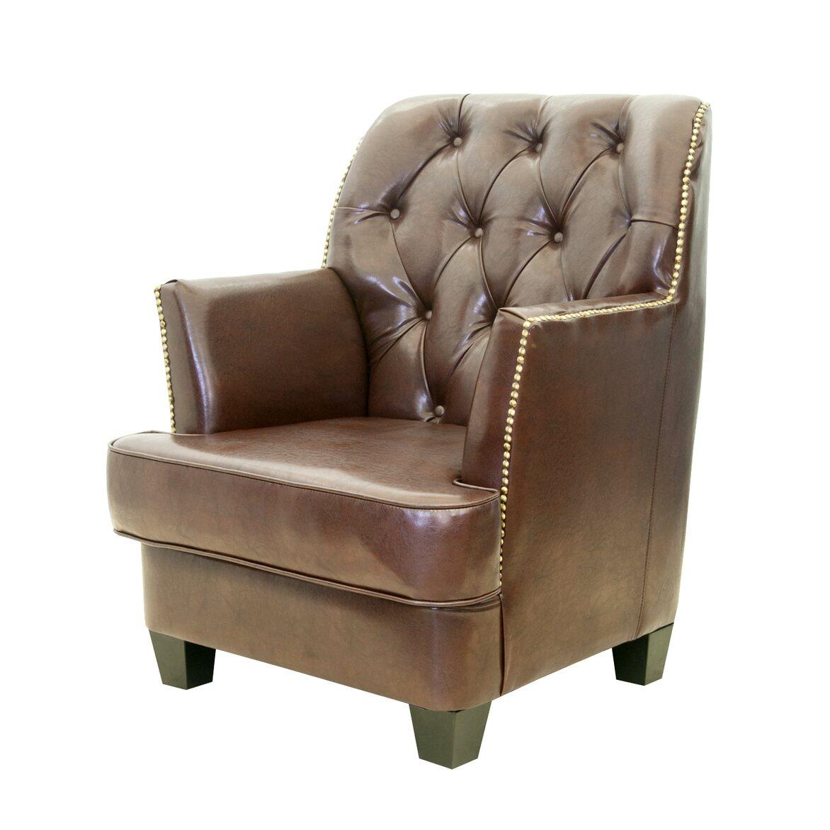 Кожаное кресло Noff 3   Кожаные кресла Kingsby