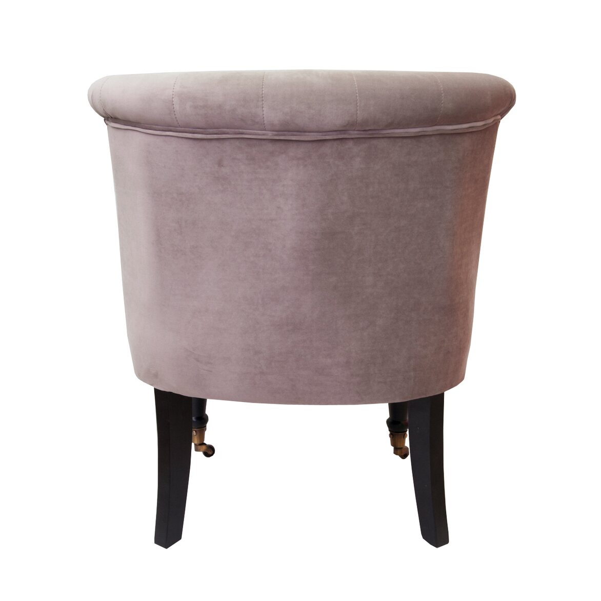 Низкое кресло Aviana taupe velvet 3   Маленькие кресла Kingsby