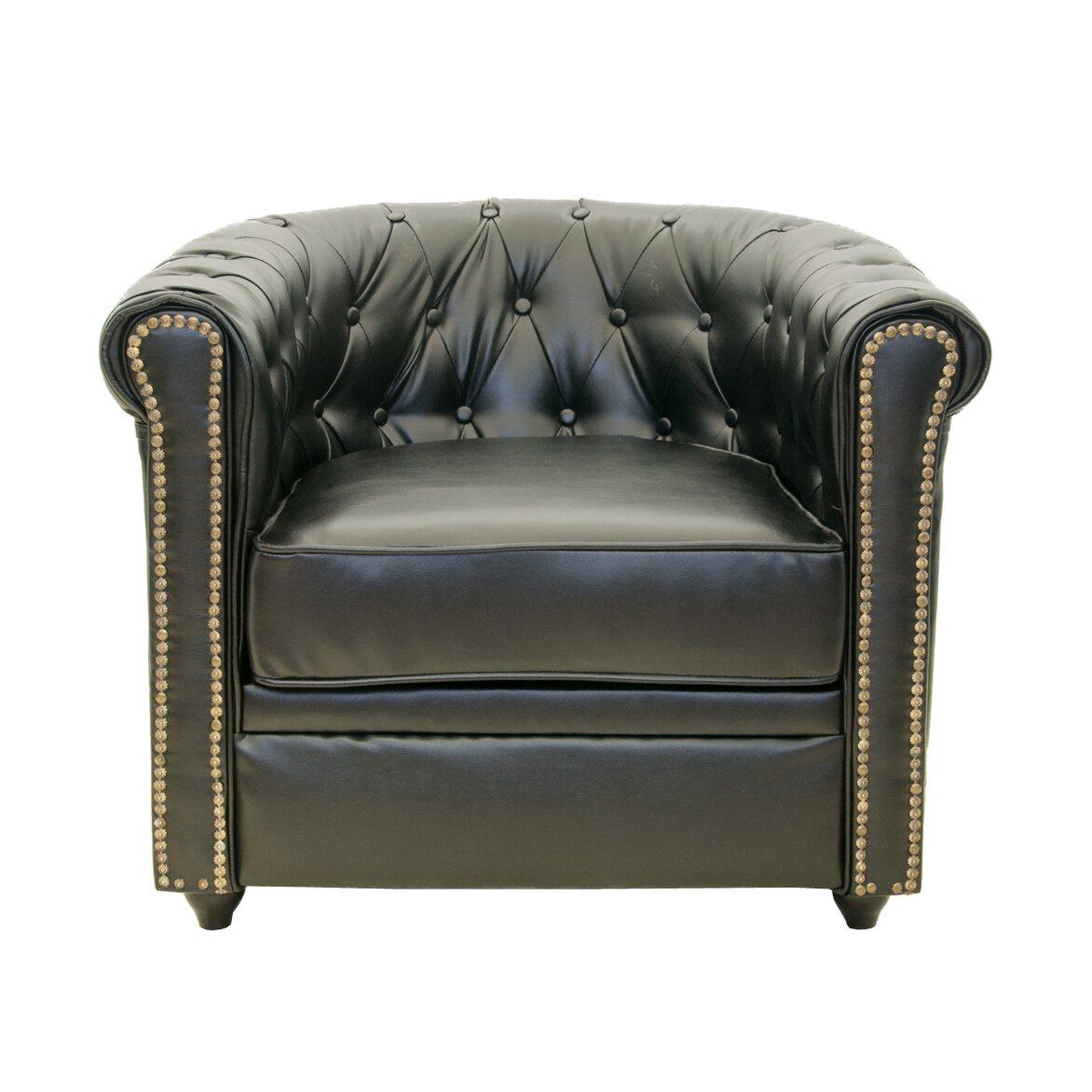 Кожаное кресло Karo black   Кожаные кресла Kingsby