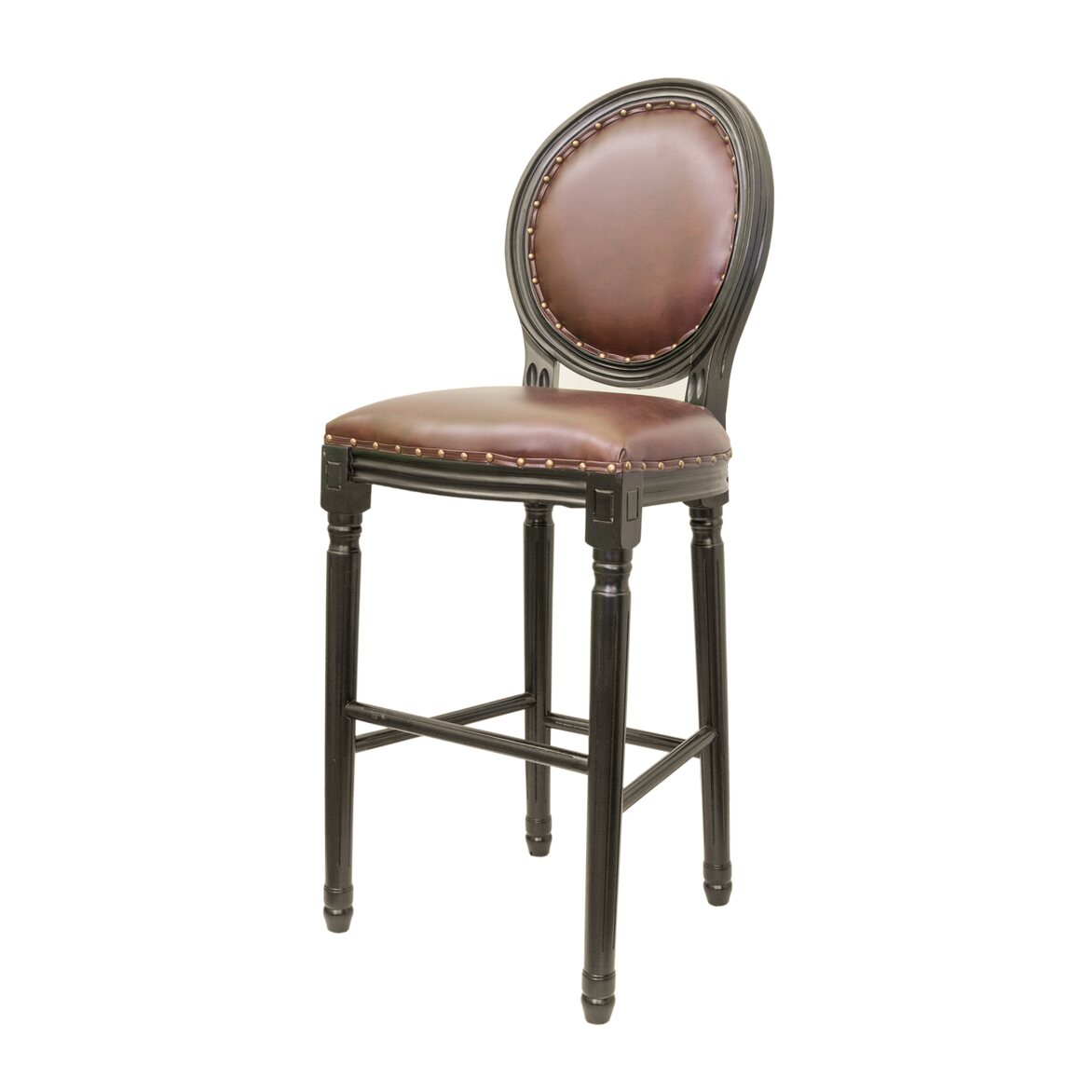 Барный стул Filon brown ver.2 4   Барные стулья Kingsby