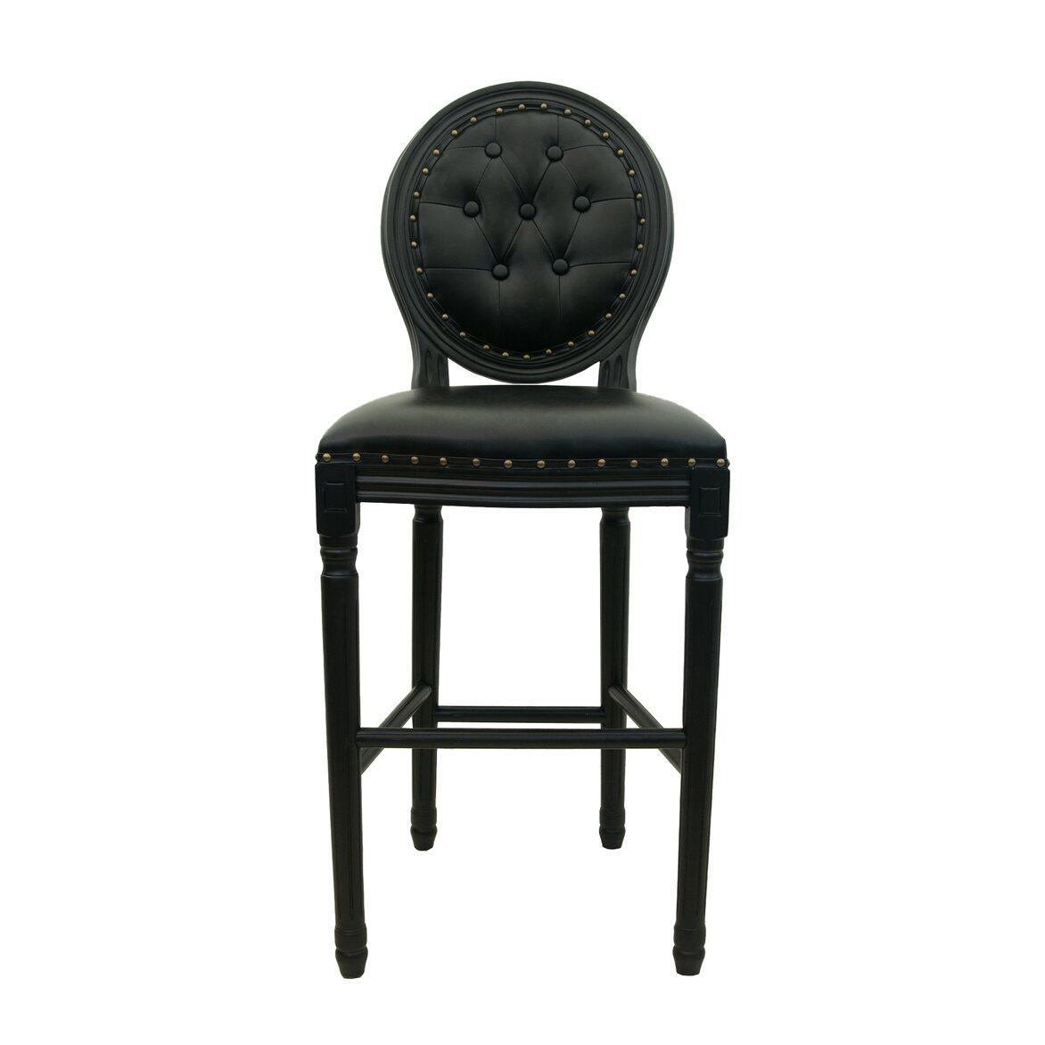 Барный стул Filon button black   Барные стулья Kingsby