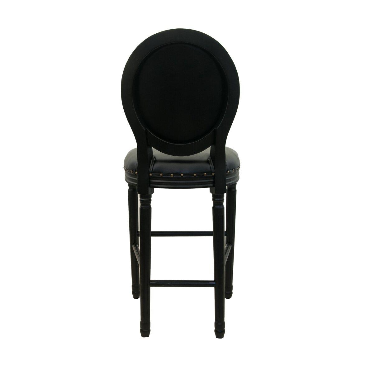 Барный стул Filon button black 3   Барные стулья Kingsby