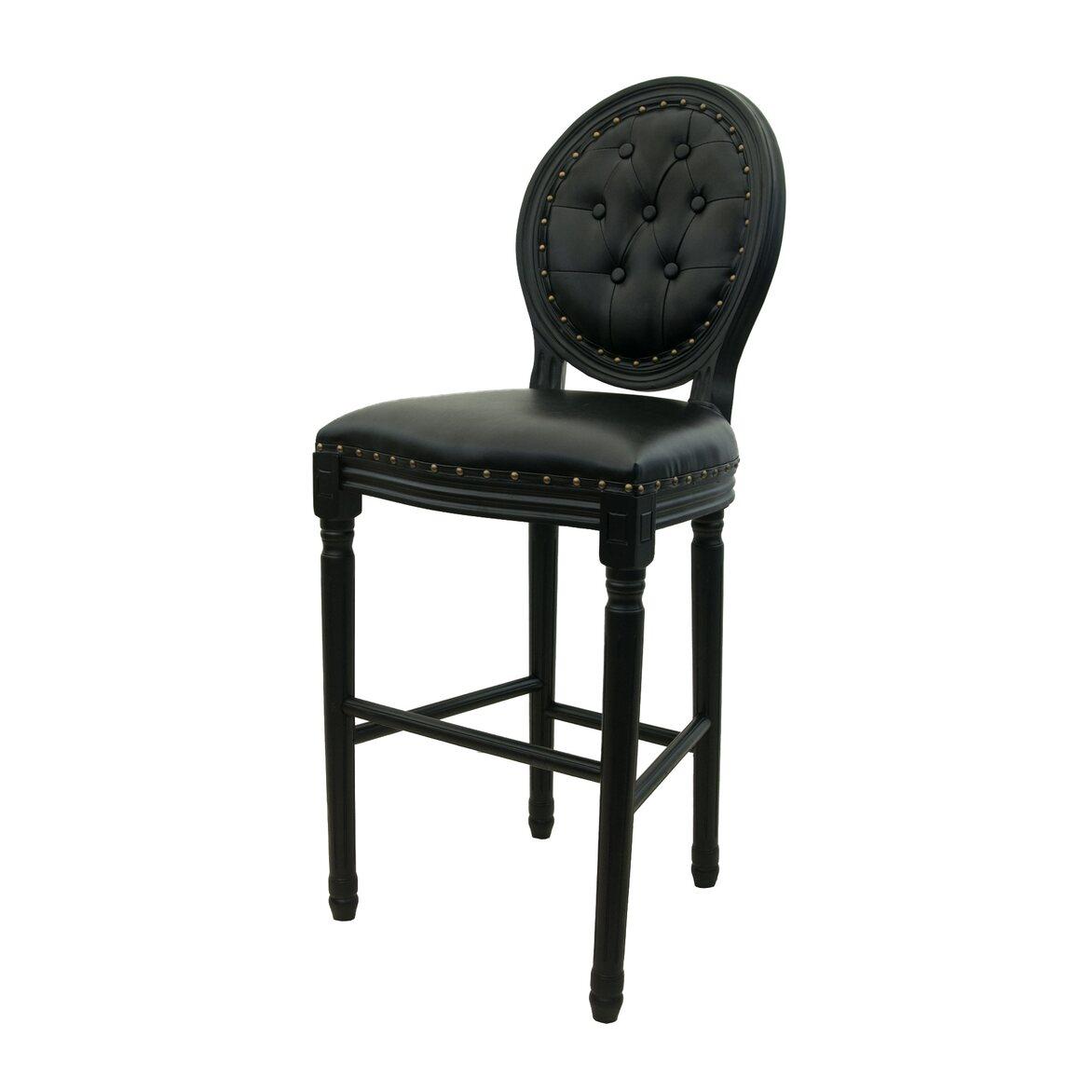 Барный стул Filon button black 4   Барные стулья Kingsby