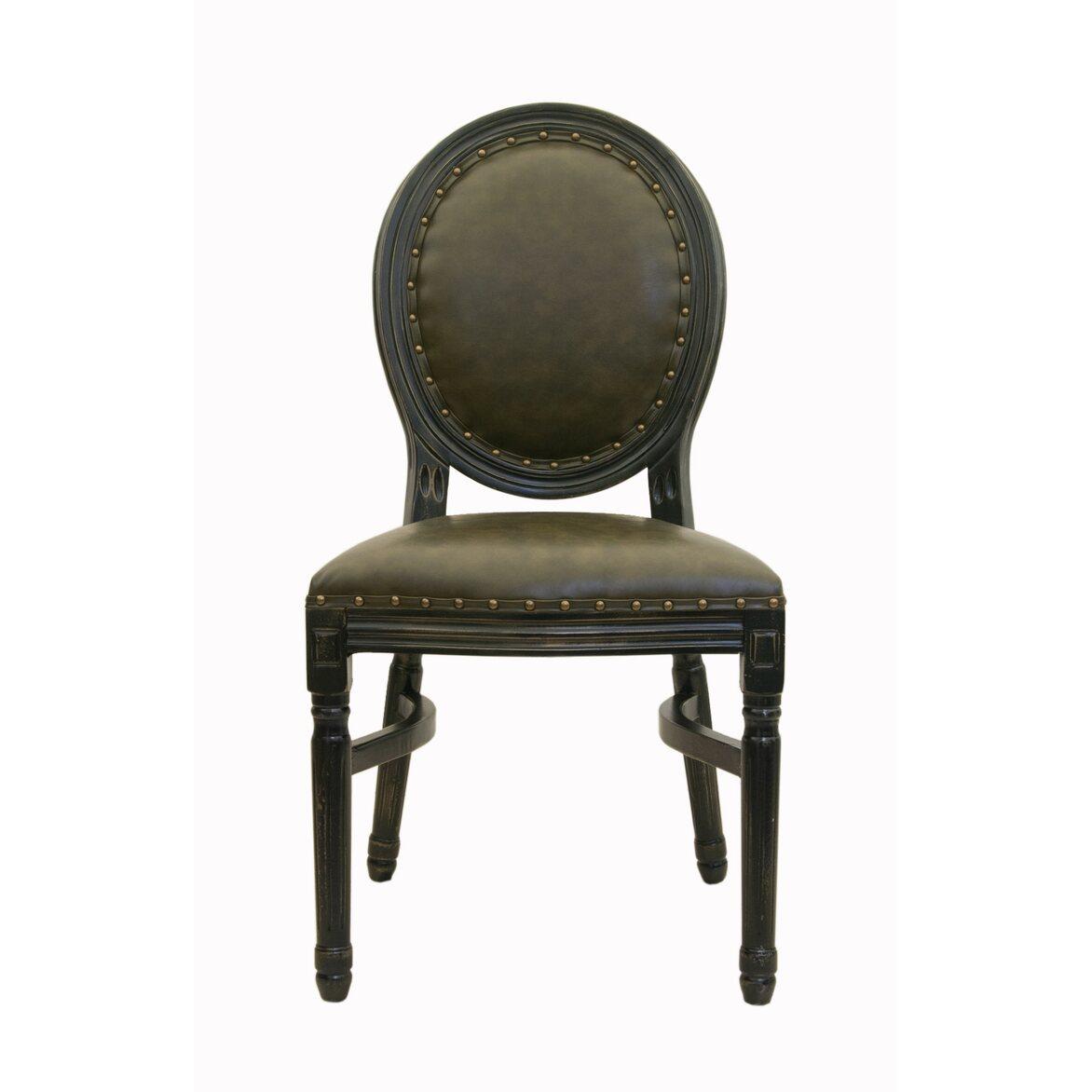 Кожаный стул Bended   Обеденные стулья Kingsby