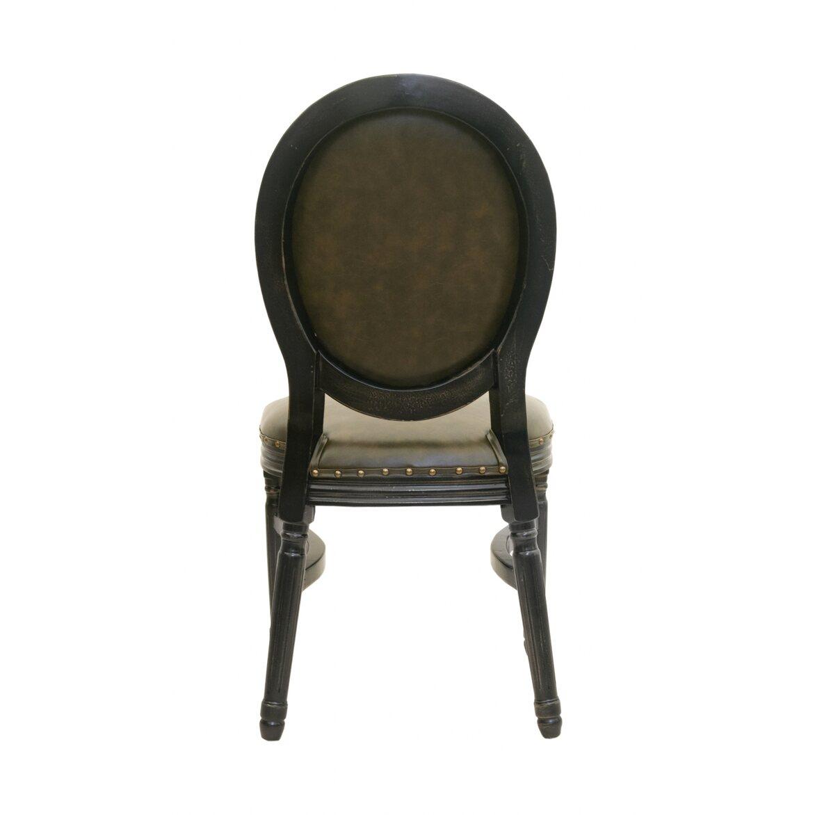 Кожаный стул Bended 3   Обеденные стулья Kingsby