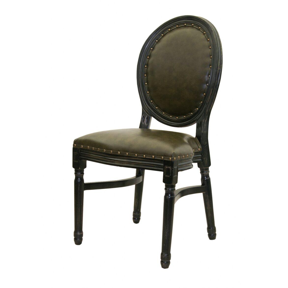 Кожаный стул Bended 4   Обеденные стулья Kingsby
