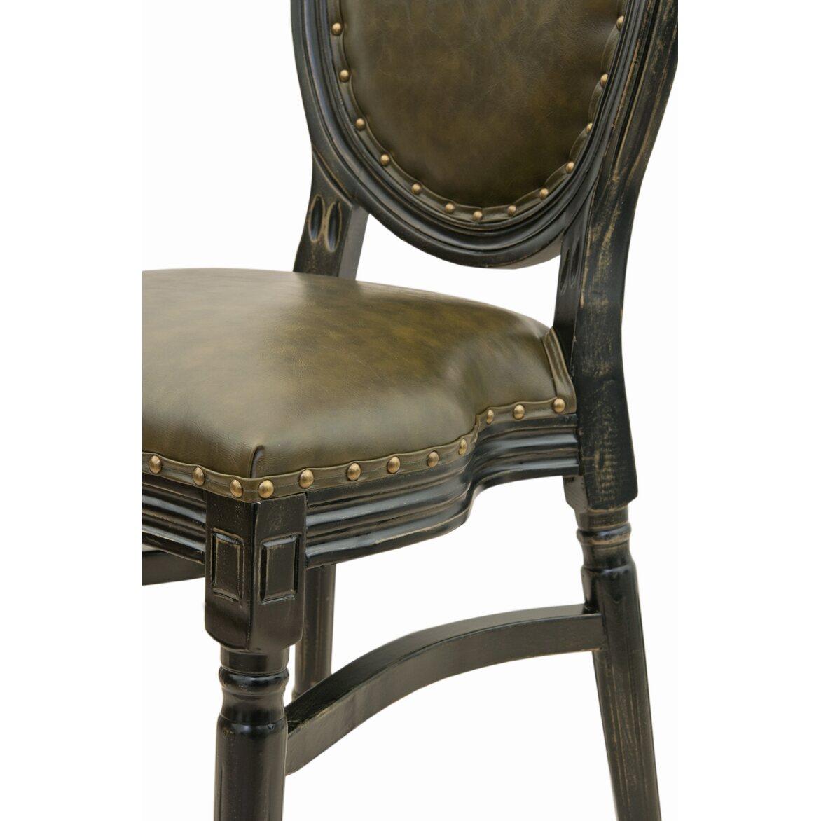 Кожаный стул Bended 5   Обеденные стулья Kingsby