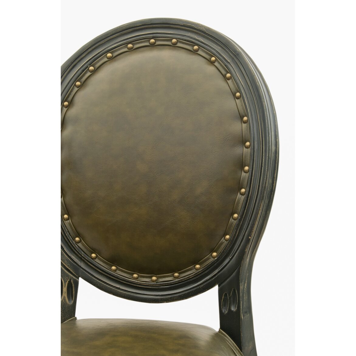 Кожаный стул Bended 6   Обеденные стулья Kingsby