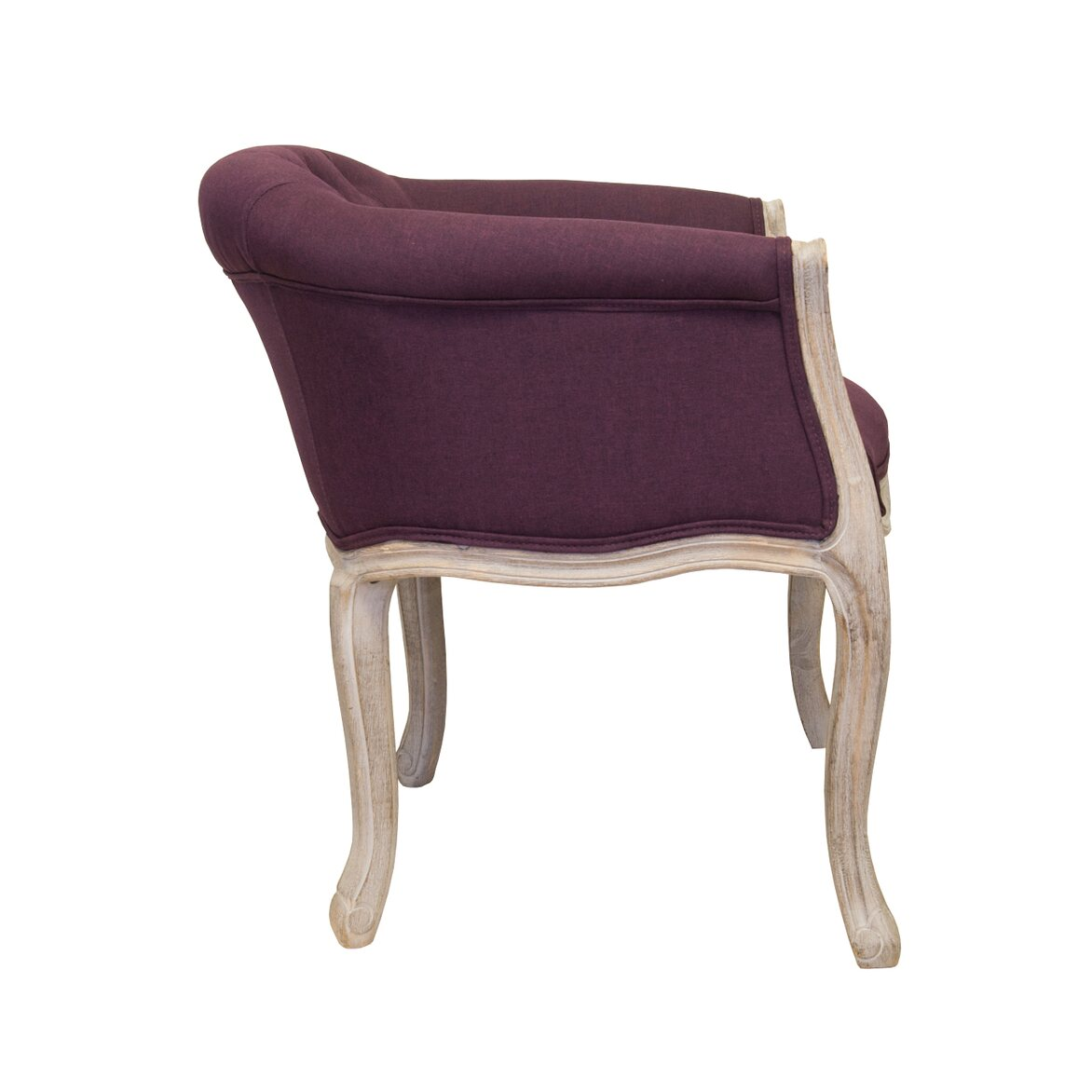 Низкое кресло Kandy violet 2 | Маленькие кресла Kingsby