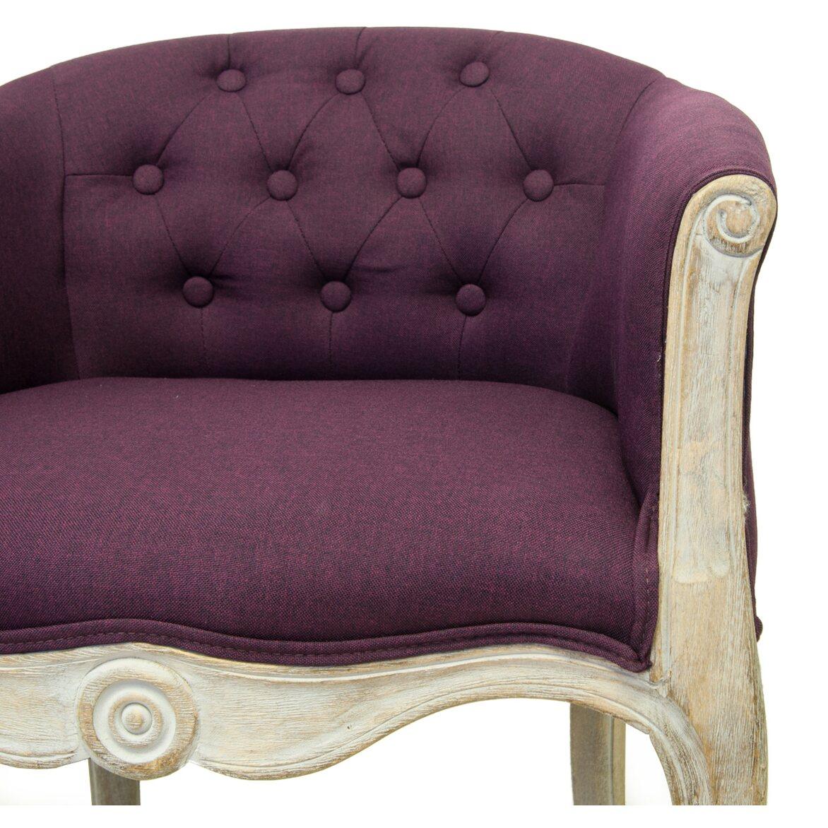 Низкое кресло Kandy violet 4 | Маленькие кресла Kingsby