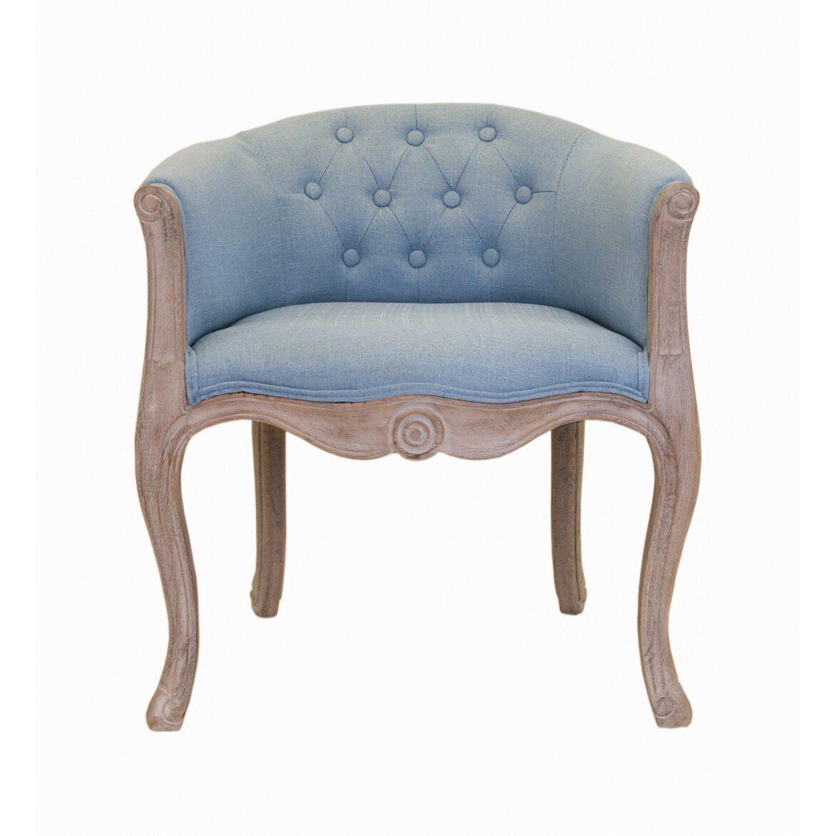 Низкое кресло Kandy light blue | Маленькие кресла Kingsby