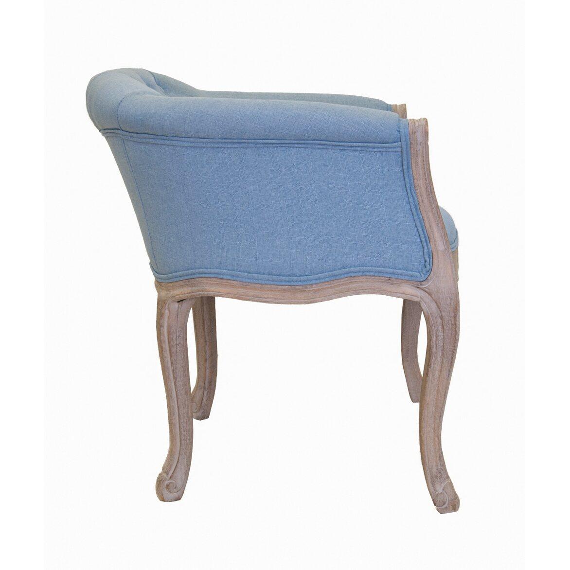 Низкое кресло Kandy light blue 2 | Маленькие кресла Kingsby