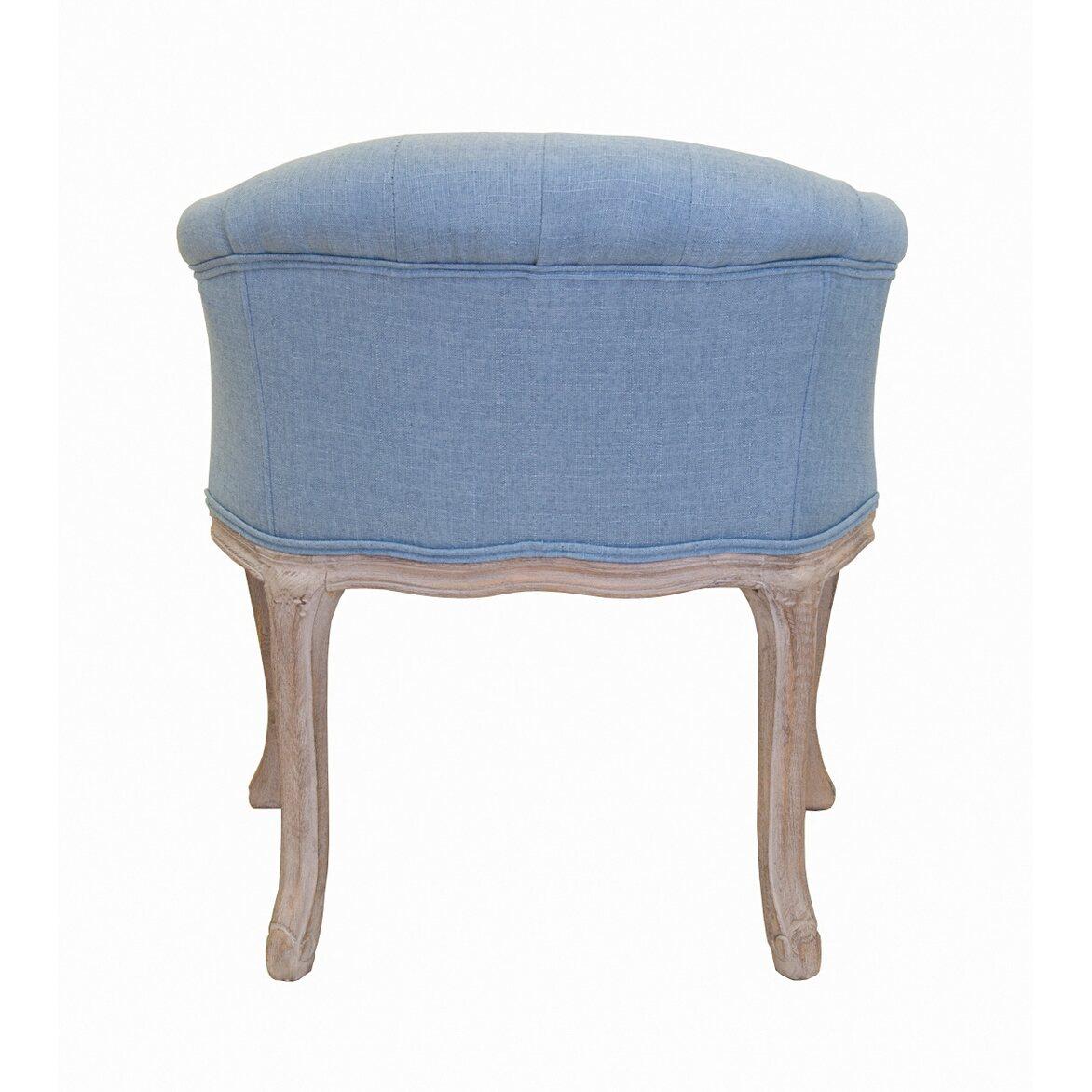 Низкое кресло Kandy light blue 4 | Маленькие кресла Kingsby