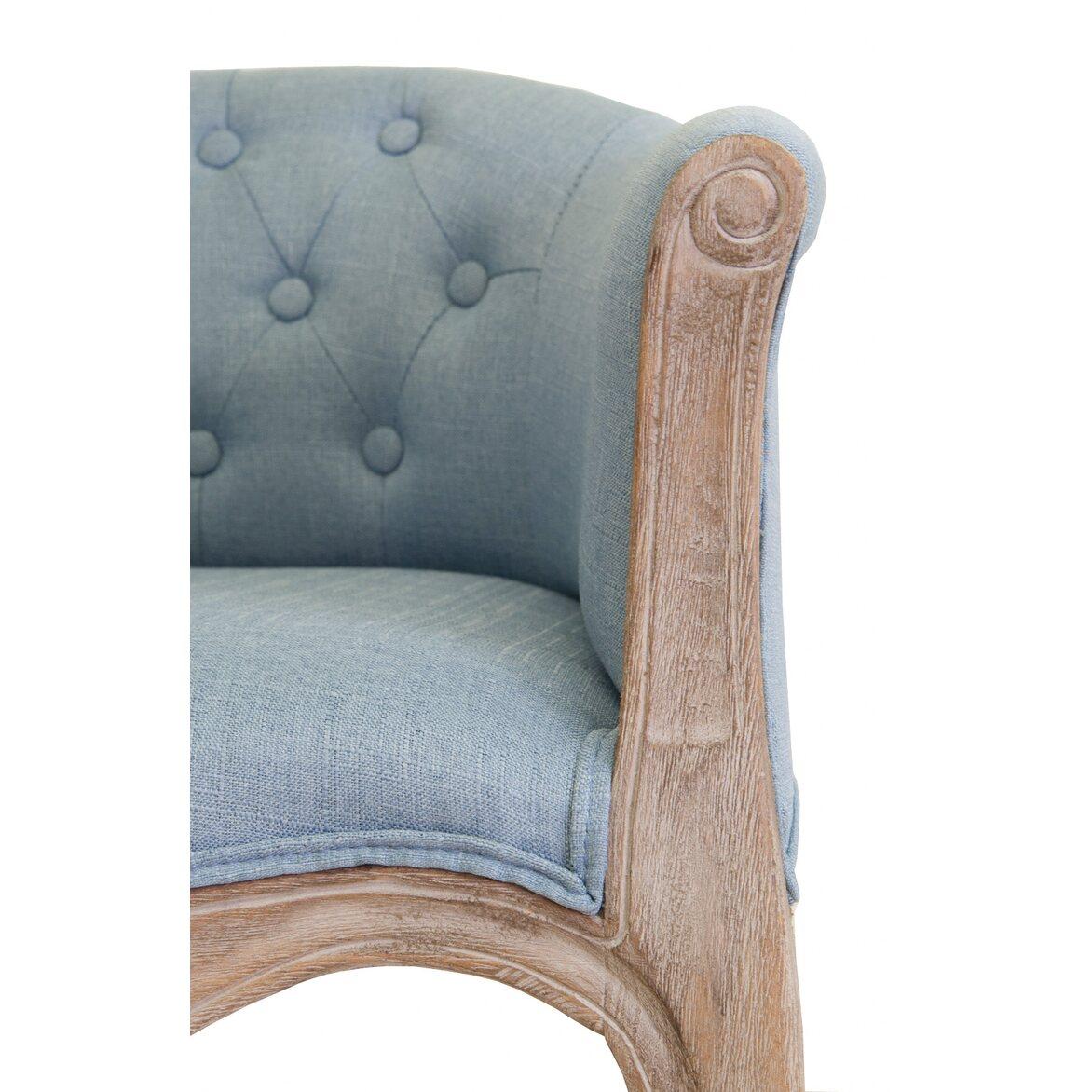 Низкое кресло Kandy light blue 5 | Маленькие кресла Kingsby