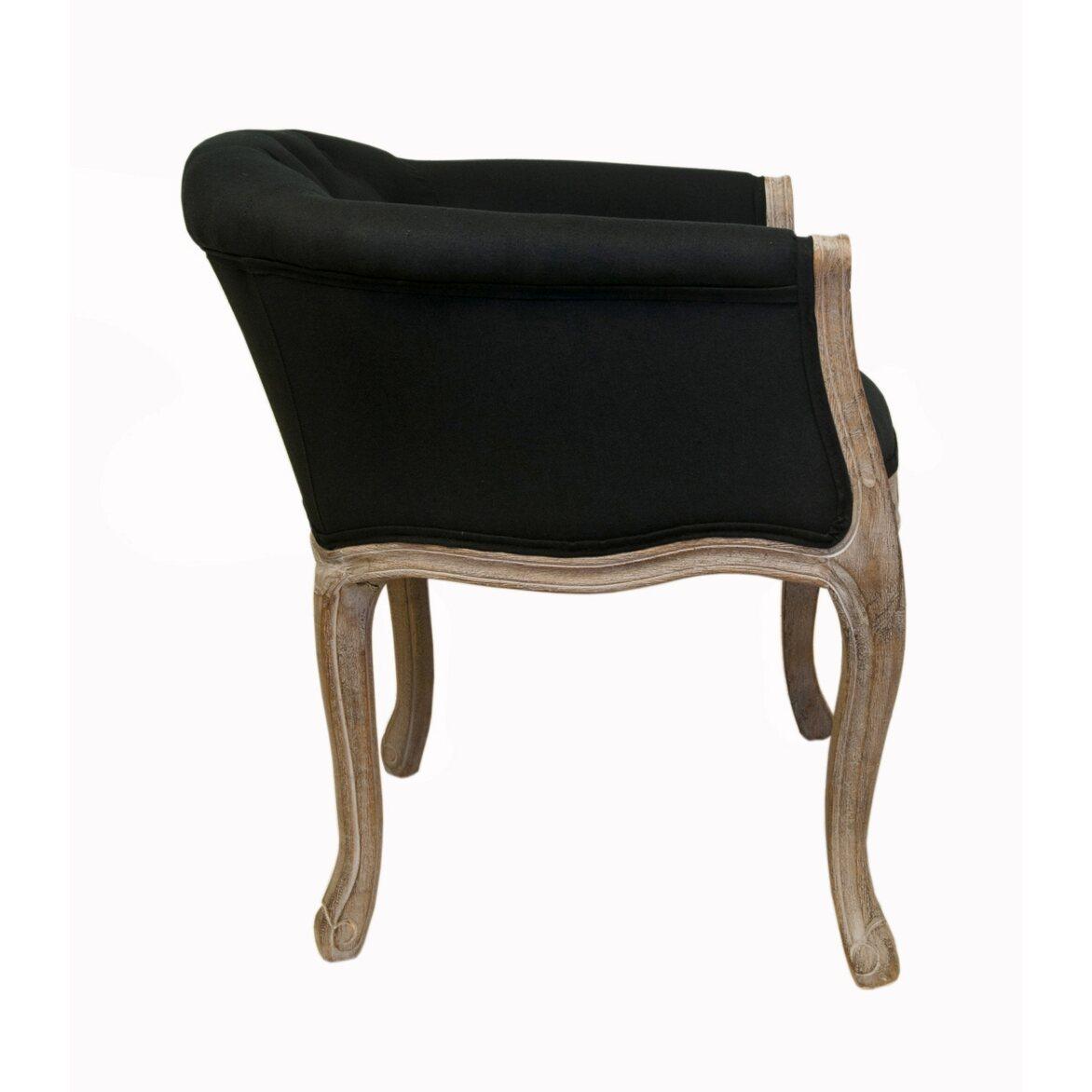 Низкое кресло Kandy black 2 | Маленькие кресла Kingsby