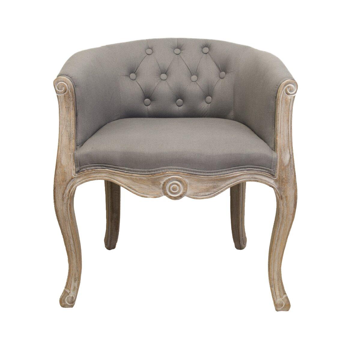 Низкое кресло Kandy grey   Маленькие кресла Kingsby
