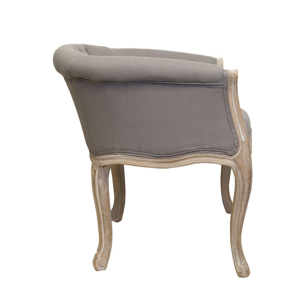 Низкое кресло Kandy grey 2   Маленькие кресла Kingsby