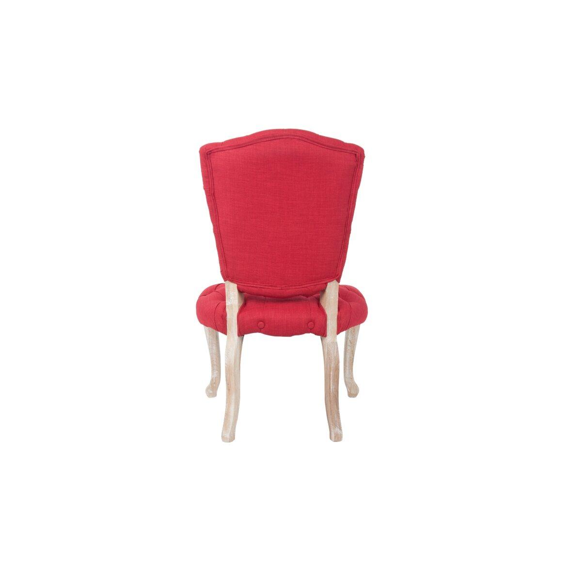 Стул Gamila red 3 | Обеденные стулья Kingsby
