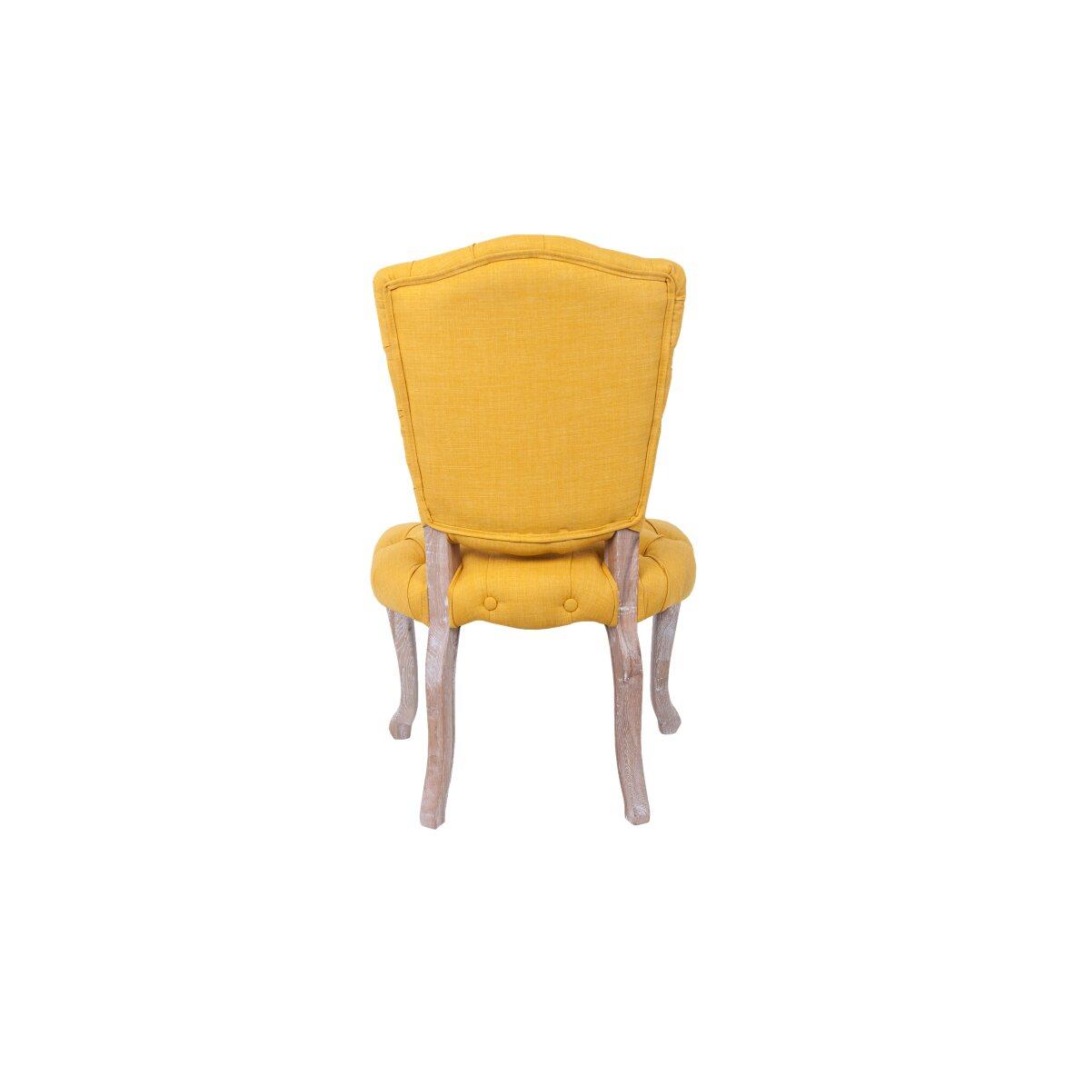 Стул Gamila yellow 3 | Обеденные стулья Kingsby