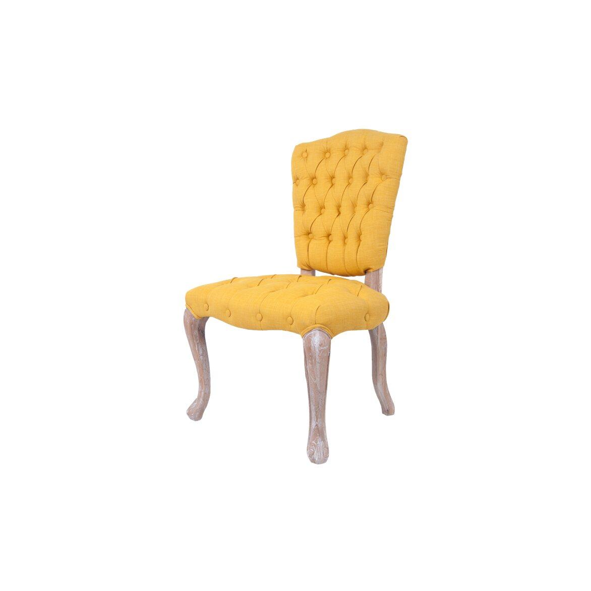 Стул Gamila yellow 4 | Обеденные стулья Kingsby