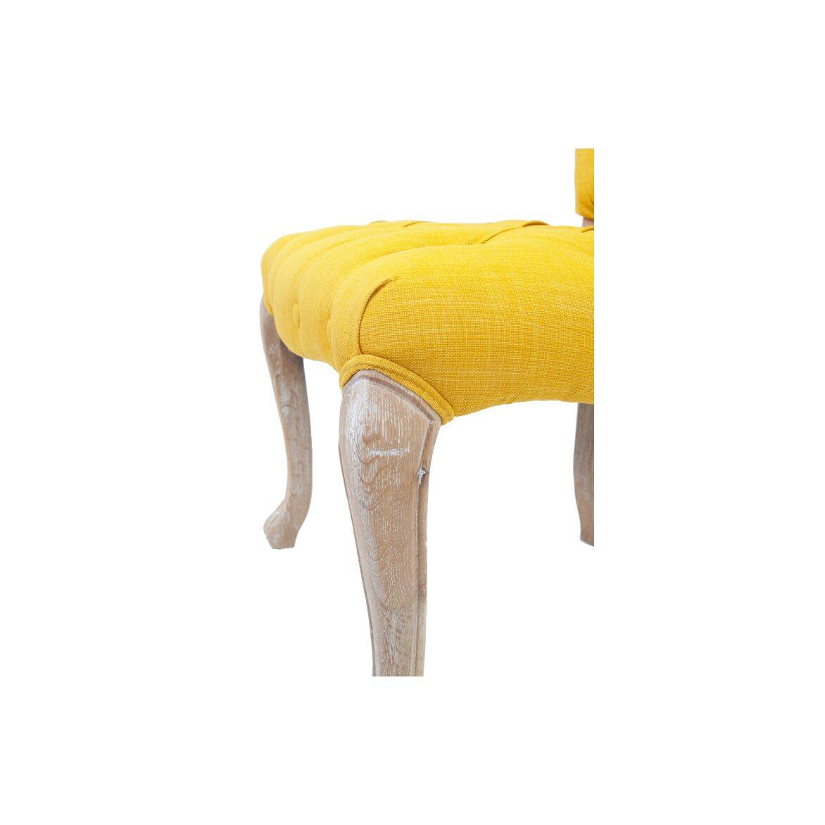 Стул Gamila yellow 5 | Обеденные стулья Kingsby