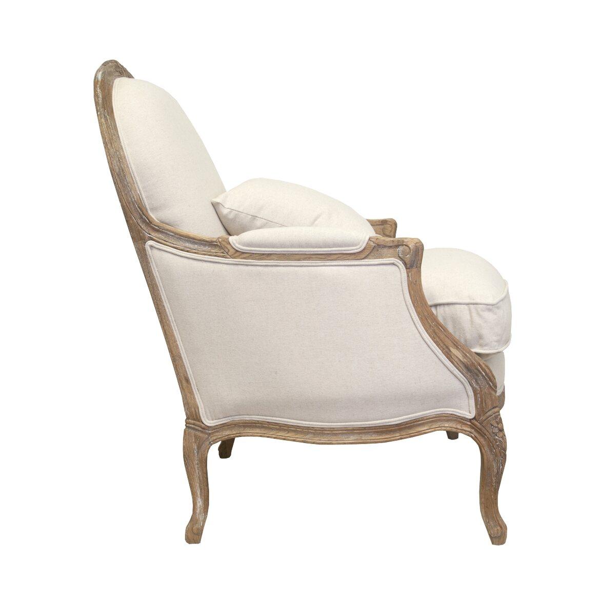 Кресло Aldo beige 2 | Каминные кресла Kingsby