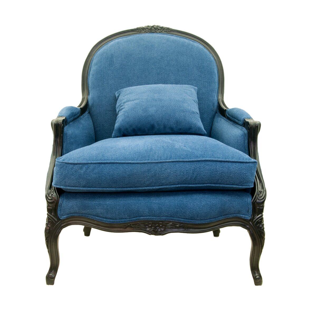 Кресло Aldo blue | Каминные кресла Kingsby