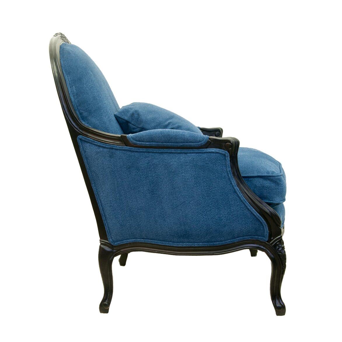Кресло Aldo blue 2 | Каминные кресла Kingsby