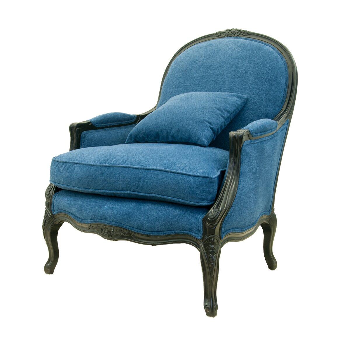 Кресло Aldo blue 4 | Каминные кресла Kingsby